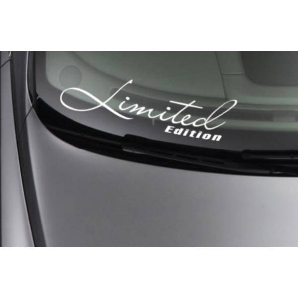 Limited Edition Stance Low Style Japan JDM Windshield Car Vinyl Sticker Decal >