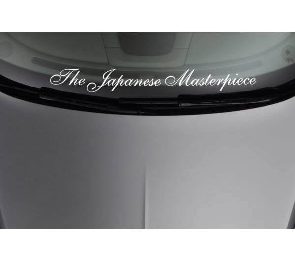 Japanese Masterpiece Royal Strip JDM Stance Car Windshield Vinyl Sticker Decal