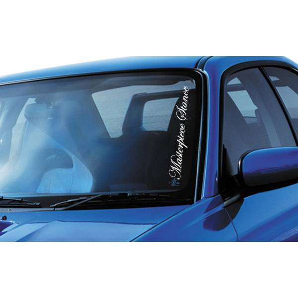 Masterpiece Stance Performance JDM Japan Royal Windshield Vinyl Sticker Decal