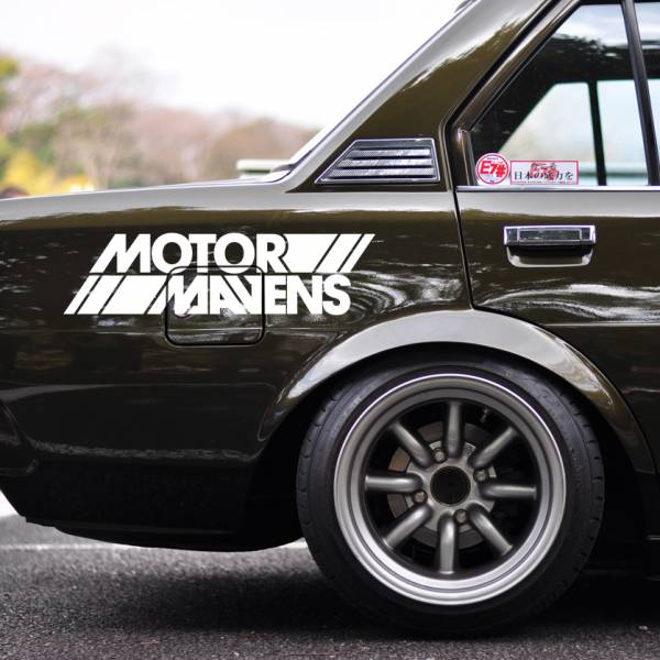 Windshield JDM MotorMavens v2 Logo Simply Clean Stance Event Show Rising Sun Japan Car Vinyl Sticker Decal