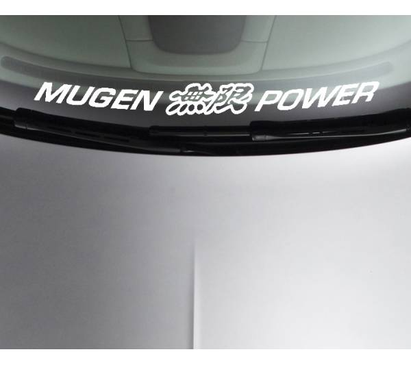 Mugen Power Honda Motorsport Racing Car Window Windshield Vinyl Sticker Decal