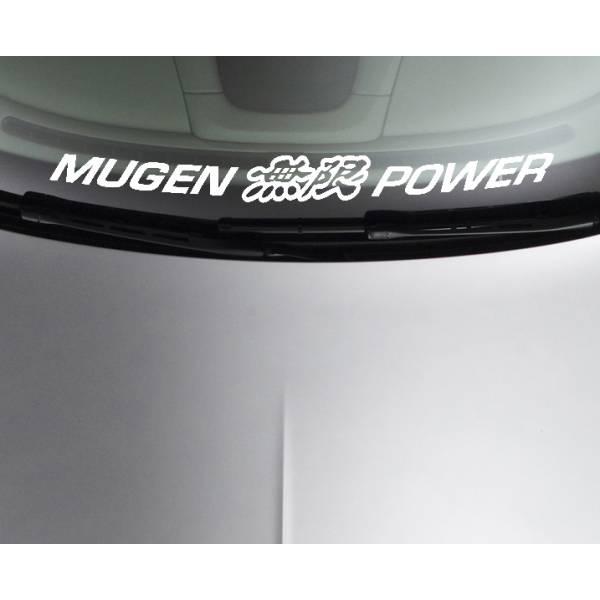 Mugen Power Honda Motorsport Racing Car Window Windshield Vinyl Sticker Decal