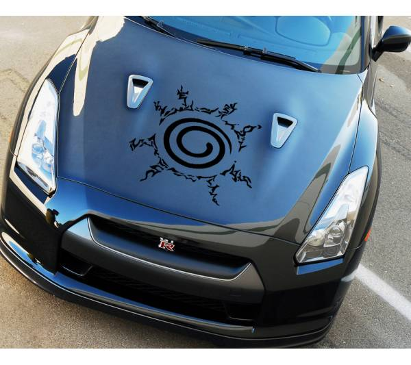 Naruto Hood Seal Shinobi Uzumaki Sasuke Uchiha Kakashi Anime Manga Body Windshield Sticker Decal