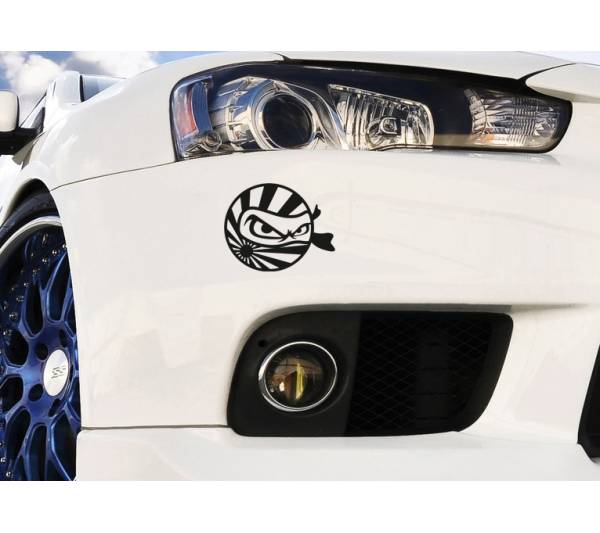Japan Ninja Rising Sun JDM Japanese Performance Window Body Vinyl Sticker Decal