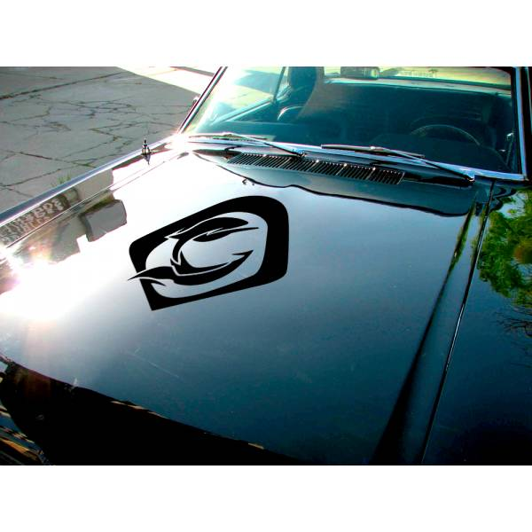 Ana Overwatch Ultimate Hood Logo Video Game Car Vinyl Sticker Decal