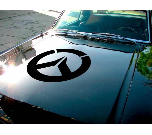 Overwatch Ultimate Hood Logo Video Game Car Vinyl Sticker Decal