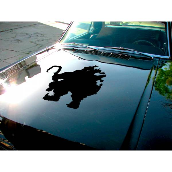 Roadhog Overwatch Ultimate Hood Logo Video Game Car Vinyl Sticker Decal