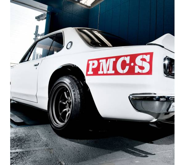 2x Pair PMC S Prince Motor Company Sports Legendary Nissan Rising Sun Skyline C10 C110 GTR Japan Car Vinyl Sticker Decal