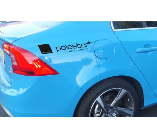 2x Polestar Performance Volvo Emblem Badge Racing Sport Drift Car Windshield Body Vinyl Sticker Decal