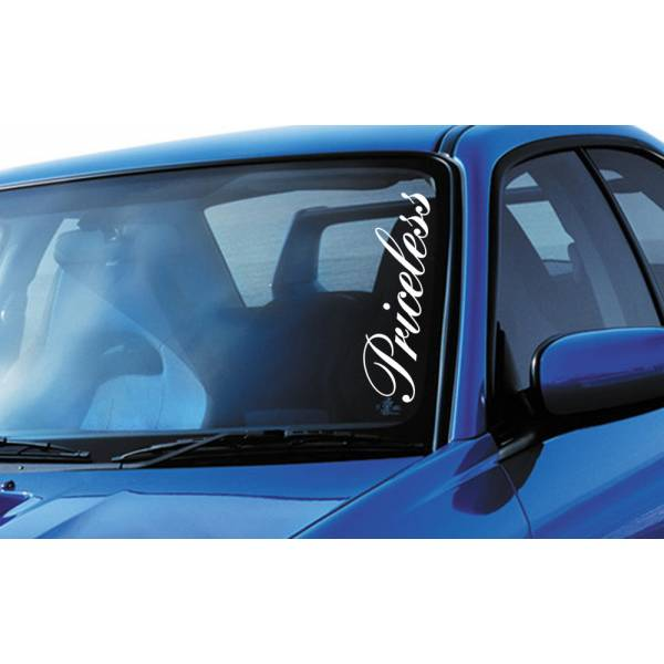 Priceless Royal JDM Stance Japan Performance Car Windshield Vinyl Sticker Decal >