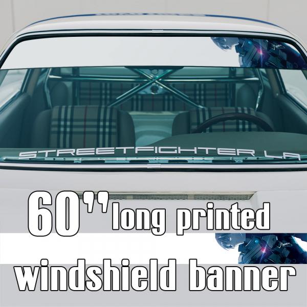 "60"" Killy Cibo Sanakan Domochevsky v8 City Netsphere Silicon Creatures Cyborg Anime Manga Sun Strip Printed Windshield Car Vinyl Sticker Decal>"