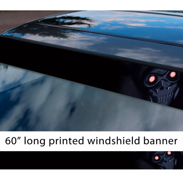 "60"" Sword Art Online Zaza Xaxa Avatar Sterben Gun Gale Shinkawa Shouichi Game Anime Manga Sun Strip Printed Windshield Vinyl Sticker"