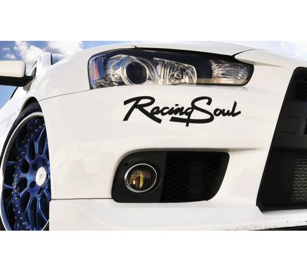 Racing Soul Race Sport 4WD 4x4 Car Truck Headlight Taillight Vinyl Sticker Decal