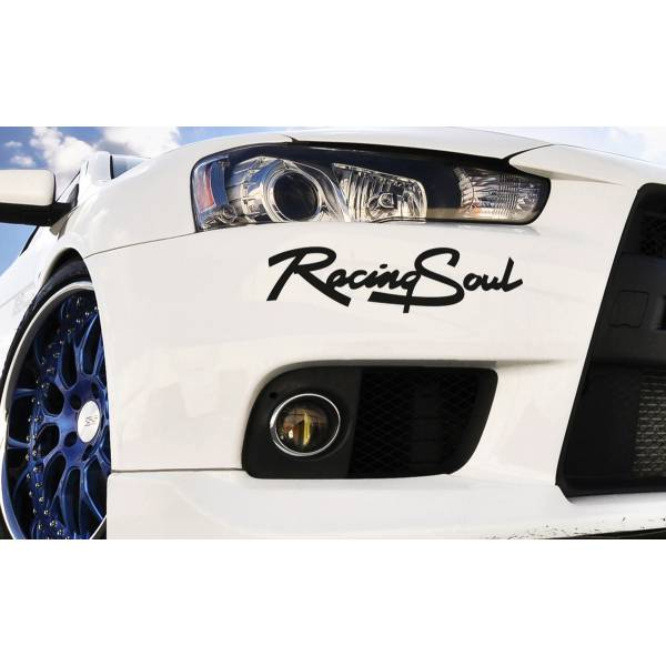 Racing Soul Race Sport 4WD 4x4 Car Truck Headlight Taillight Vinyl Sticker Decal >