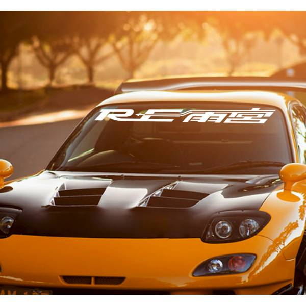 RE Amemiya Racing Performance Strip JDM Stance Car Windshield Vinyl Sticker Decal>