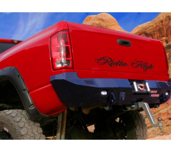 Window Body Banner Ridin High Diesel Power SUV Truck 4x4 Off-Road Vinyl Decal