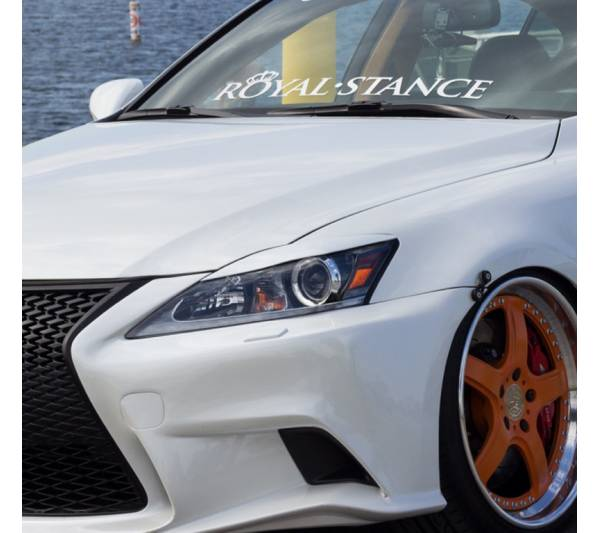 Royal Stance v2 Fitment Nation Royal Stance Event Banner Strip JDM Low Vinyl Decal