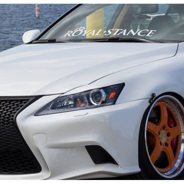 Royal Stance v2 Fitment Nation Royal Stance Event Banner Strip JDM Low Vinyl Decal >