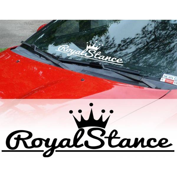 Royal Stance Fitment Nation Royal Stance Event Banner Strip JDM Low Vinyl Decal >