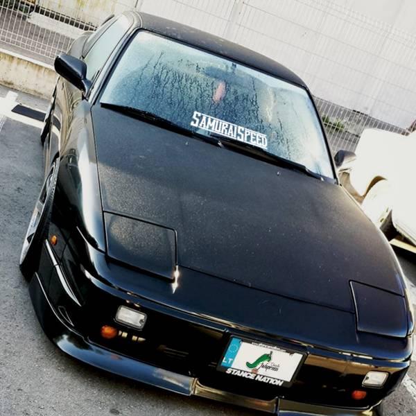 Samurai Speed Origins Banner Static Lowered Stance Low Slammed  JDM Racing Turbo Car Vinyl Sticker Decal