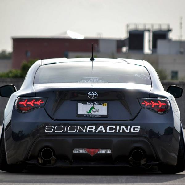 Scion Racing v2 Toyota Development TRD GT-86 FR-S TC XB XA XD IQ Stance Banner Strip JDM Low Vinyl Decal