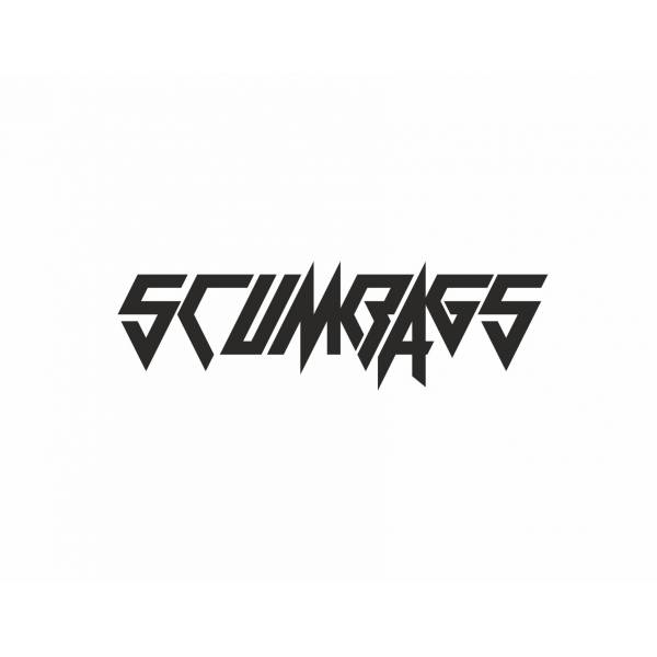 Scumbags Custom Banner Street Stance Low Slammed Car Sticker