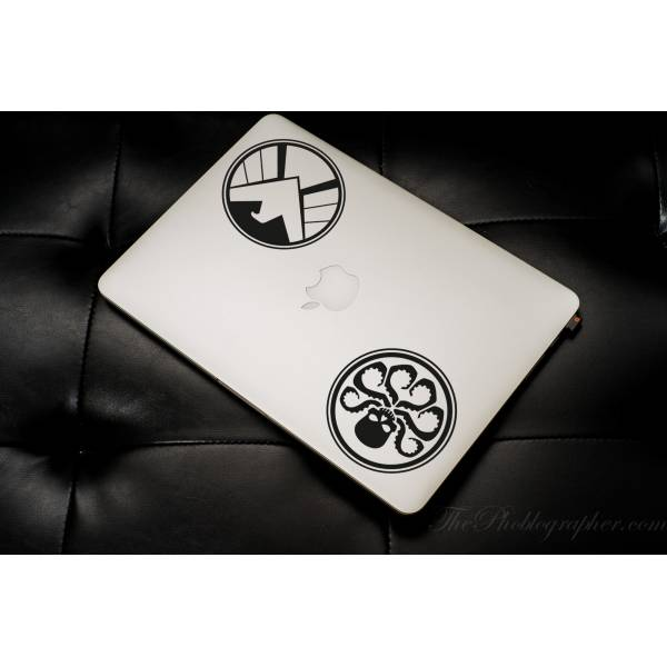 2in1  Agents of .  Shield Hydra Comics  Car Laptop Vynil Sticker Decal #S.H.I.E.L.D#S.H.I.E.L.D.
