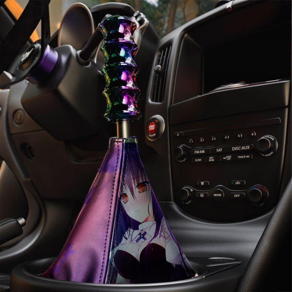 Absolute Duo v1 Blaze Yurie Sigtuna Tomoe Tachibana Lilith Bristol Sexy Hot Anime Manga Eco Leather Printed Car Shift Boot>