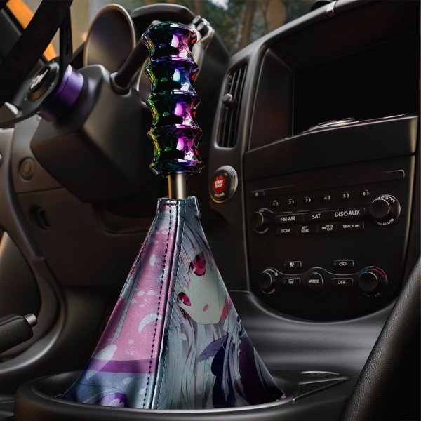 Absolute Duo v2 Blaze Yurie Sigtuna Tomoe Tachibana Lilith Bristol Sexy Hot Anime Manga Eco Leather Printed Car Shift Boot>