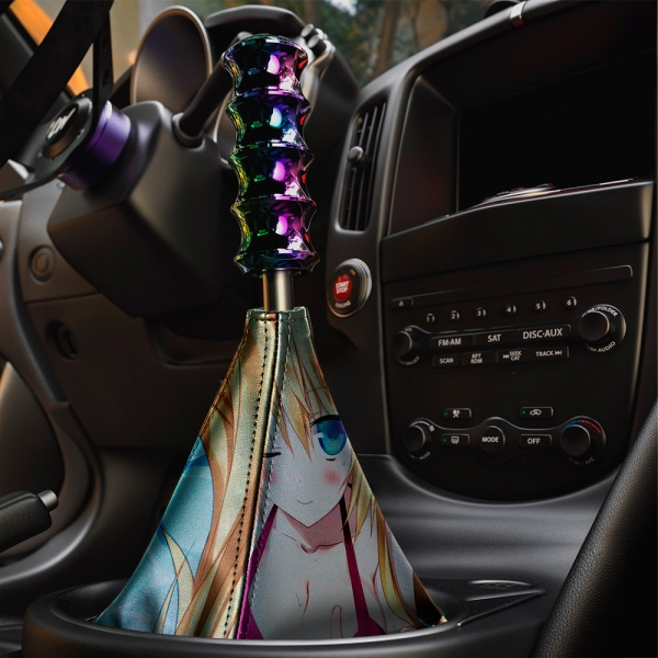 Absolute Duo v5 Blaze Yurie Sigtuna Tomoe Tachibana Lilith Bristol Sexy Hot Anime Manga Eco Leather Printed Car Shift Boot>