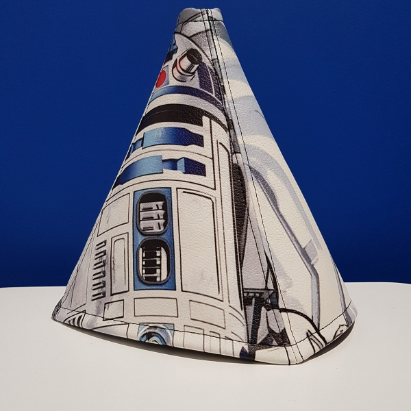 R2 D2 Droid Rebel Alliance Jedi Order Skywalker R2D2 Star Wars Eco Leather Printed Car Shift Boot