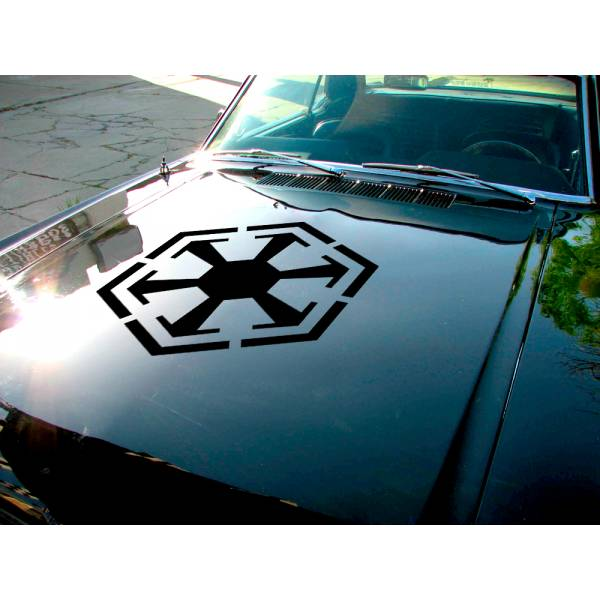 Sith Empire Hood Edition Dark Side Force Darth Galactic Car Vinyl Sticker Decal>