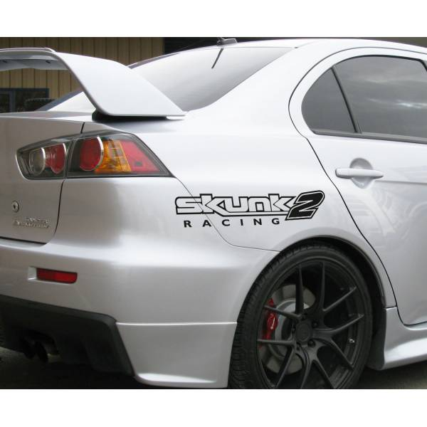 2x Pair Skunk2 Racing Performance Hoonigan Stance Royal Event Banner Strip JDM Low Vinyl Decal