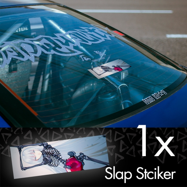 Blame! V2 Killy Cibo Sanakan Domochevsky City Netsphere Silicon Creatures Cyborg Anime Manga JDM Printed Box Slap Bumper Car Vinyl Sticker>