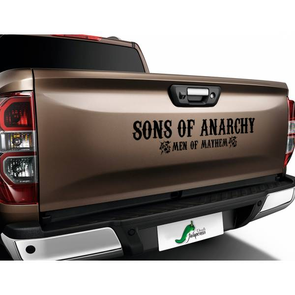 Sons of Anarchy Men Mayhem SOA TV Show Reaper Outlaw Club  Jax Teller Charming  Car Vinyl Sticker Decal