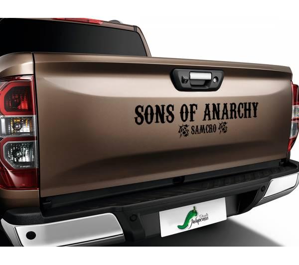 Sons of Anarchy SOA Samcro TV Show Outlaw Club  Jax Teller Charming  Car Vinyl Sticker Decal