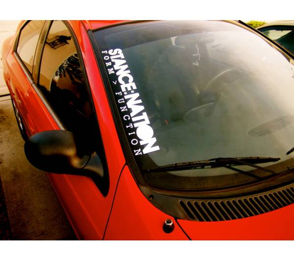 Stance Nation Slammed Royal Stance Event Banner Strip JDM Low Vinyl Decal