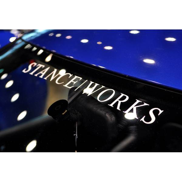 Stance Works Banner Event Royal Performance Strip JDM Car Windshield Vinyl Sticker Decal>