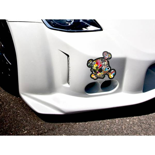 Skull Ken Block 43 JDM Sticker Bomb Body Royal Windshield Stance Printed Vinyl Decal Car