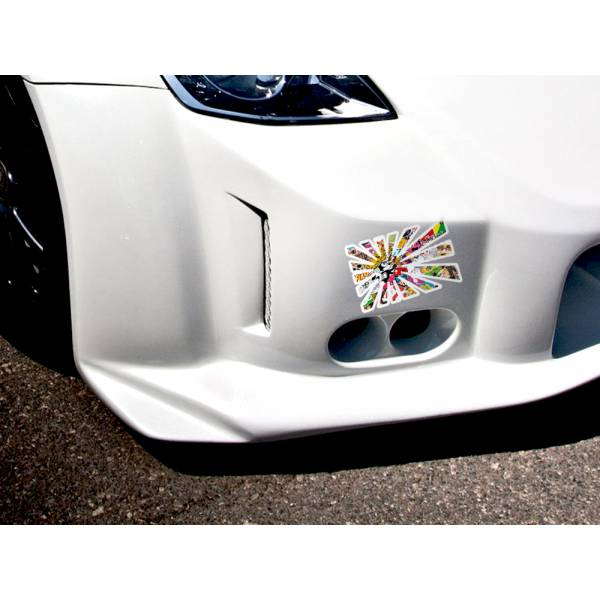 Rising Sun Jap JDM Sticker Bomb Body Royal Windshield Stance Printed Vinyl Decal>