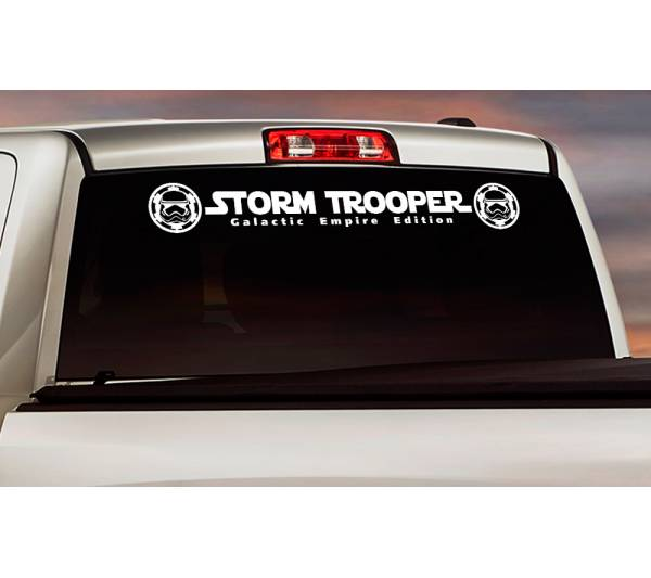Stormtrooper Galactic Empare Star Windshield Wars Darth Vader Car Sticker Decal