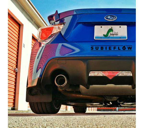 Subieflow Subaru JDM Logo Windshield Strip Banner Show Royal Event Stance Low Vinyl Decal