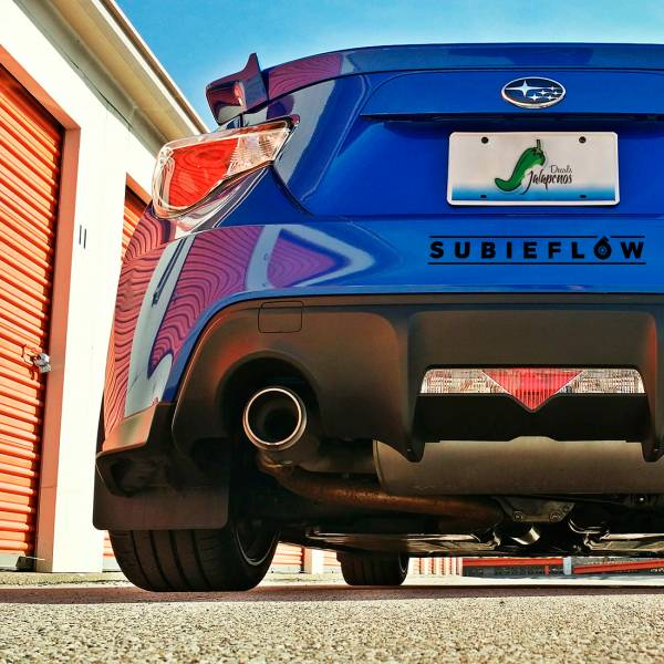 Subieflow JDM Windshield Strip Banner Show Royal Event Stance Low Vinyl Decal >