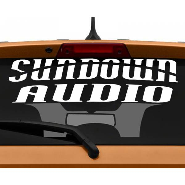 Sundown Audio Racing Performance Hoonigan Stance Royal Event Banner Strip JDM Low Vinyl Decal