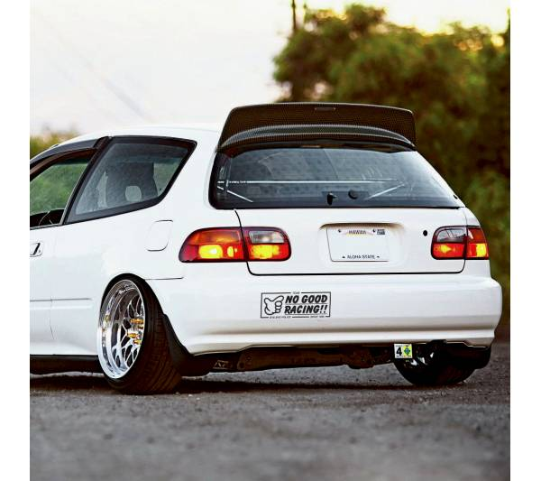 Team No Good Racing Police v2 Loop Osaka JDM Kanjo Performance Kanjozoku Honda Civic EK EG Car Vinyl Sticker Decal