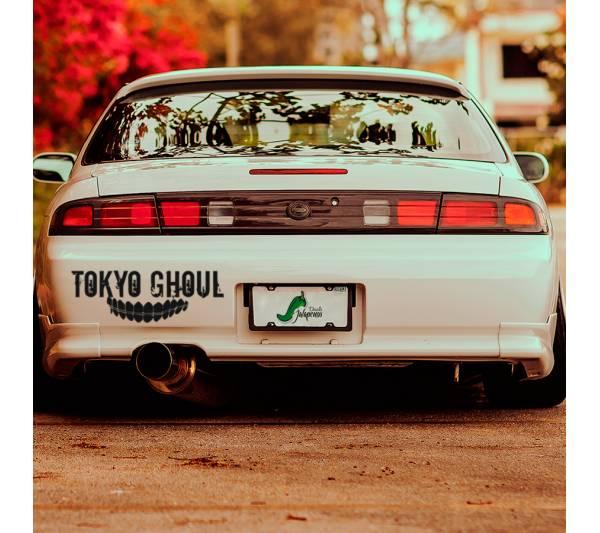 Tokyo Ghoul Teeth Smile v1 Ken Kaneki Manga Anime 東京喰種 トーキョーグール Car Vinyl Sticker Decal