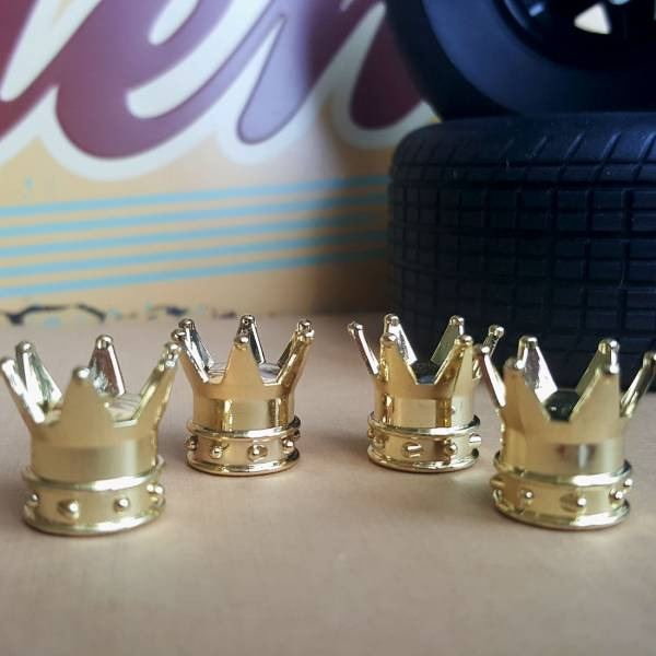 4x Crown Royal Stance Funny JDM Valve Cap Tire Wheel Rims Cover Accessories Car Bike Truck>