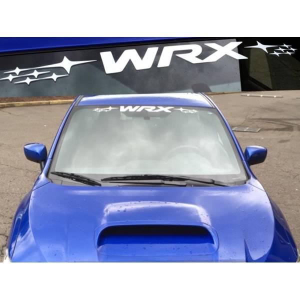 Subaru WRX Impreza Banner STI Rally Motorsport Racing JDM Car Vinyl Sticker Decal