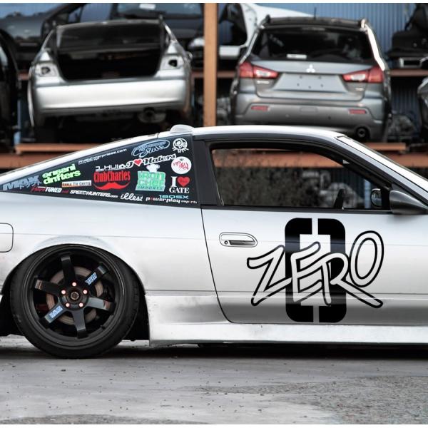 2x Pair Side Liger Zero RZ-041 ライガーゼロ  Lion Type Zoids Anime Manga Mecha Dinosaur Car Vinyl Sticker Decal>
