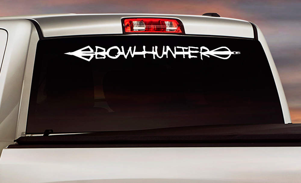 Buy Hunting Decals - Bow hunting decals for trucks